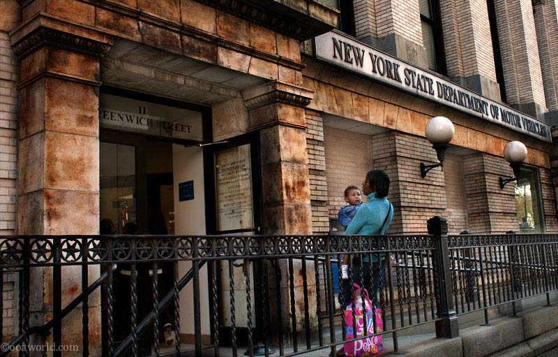NYC DMV USA road trip photo ooaworld