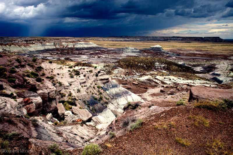 Photos Painted Desert Arizona skies after the storm
