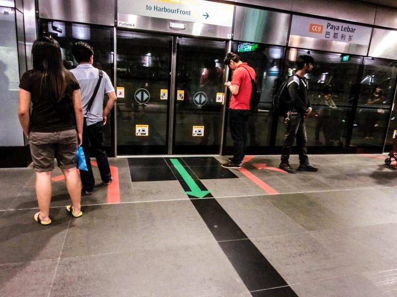 Singapore MRT station photo ooaworld Rolling Coconut