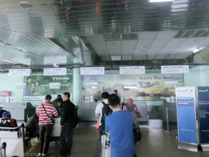 Tawau airport Borneo photo ooaworld Rolling Coconut