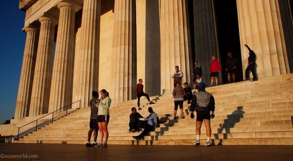 Photos Washington DC Monuments Lincoln Memorial Morning Glory USA road trip photo ooaworld