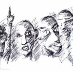 bar lineup drawing art ooaworld ooaddle