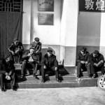 china old men talking photo ooaworld
