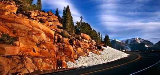 Photos Colorado mountains road closed USA road trip photo ooaworld