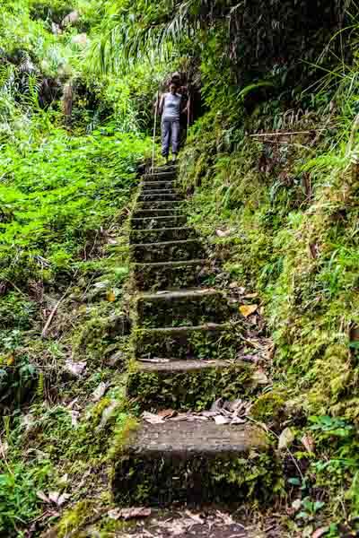 hike to waterfall batad photo ooaworld Rolling Coconut