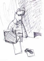 pivotal Travel Drawings: Road sketches, part 2 ooaworld photo