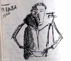 ribcrib Travel Drawings: Road sketches, part 2 ooaworld photo