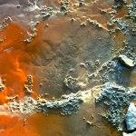 Texture, Yellowstone Park, Orange Germs