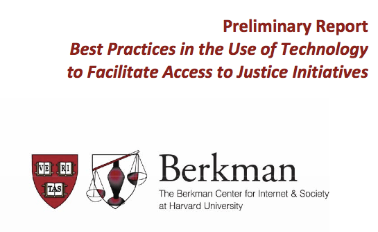 Open Law Lab - Berkman access to justice