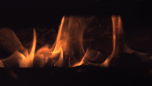 fire with wood 2