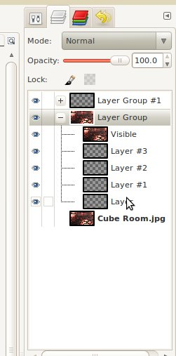 Layer grouping