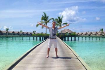 Johnny Ward at Niyama Resort, Maldives