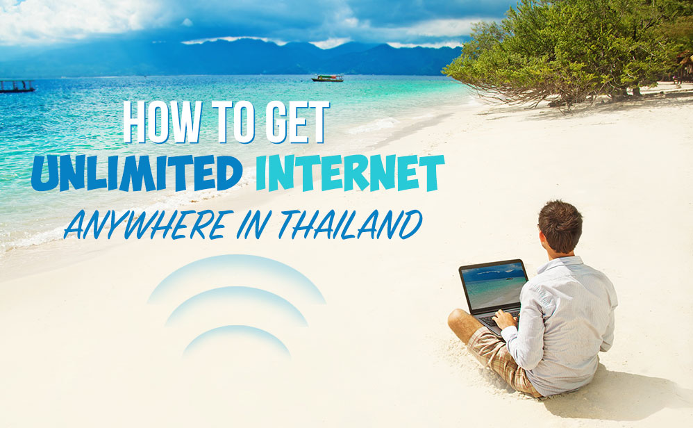 How to get unlimited internet in Thailand (Travel Hack)