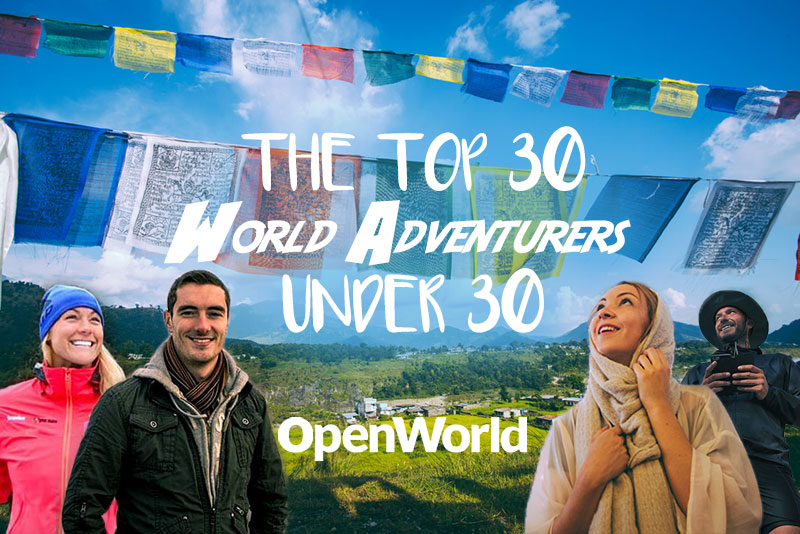 The Top 30 Adventurers Under 30 in 2016