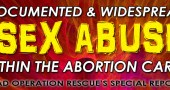 Documented Sex Abuse Committed By Members of the Abortion Cartel
