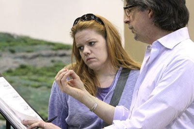 """Seattle Opera staging rehearsals for """"The Ring""""."""