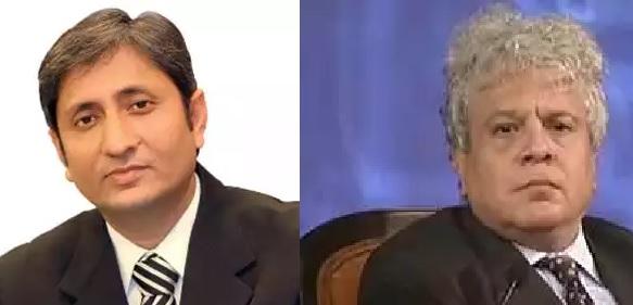 Suhel Seth calls out Ravish Kumar's bluff