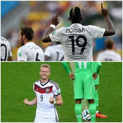 Ziua europenilor la Mondialul brazilian. Franta si Germania s-au