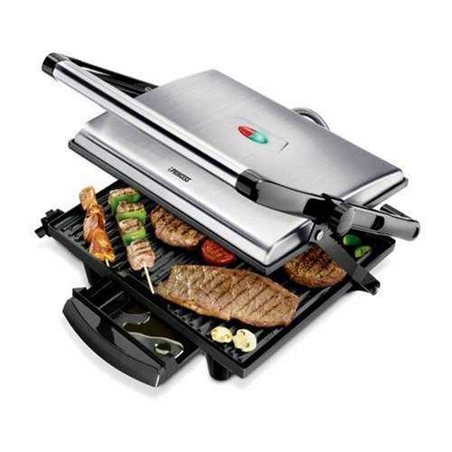 Plancha grill inoxidable