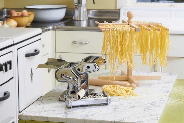 M quina de hacer pasta y secador de pasta casera los - Maquina para hacer pastas caseras ...