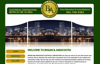 Redesign of Bogan & Associates Website