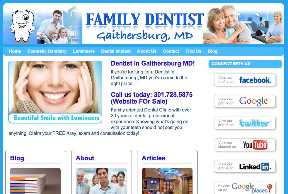 Dentist In Gaithersburg