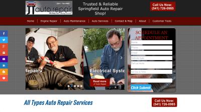 JT Auto Repair Springfield, Oregon
