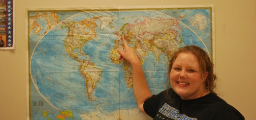 Social studies teacher Mandy Millican teaches both economics and American History. She grew up with a military father, and experienced her high school in Germany.