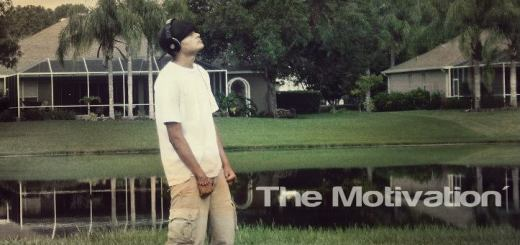 "The album cover of Young Kevin's most recent album, ""The Motivation""."
