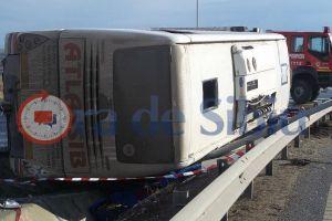 VIDEO Concluzia poliției în cazul accidentului de autocar de la Sibiu. Cine e vinovat!