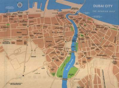 Large Dubai Maps for Free Download and Print | High-Resolution and Detailed Maps