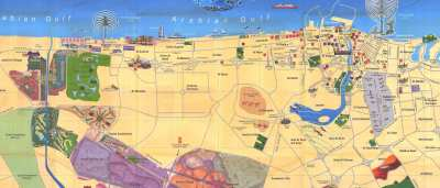 Large Dubai Maps for Free Download and Print | High-Resolution and Detailed Maps