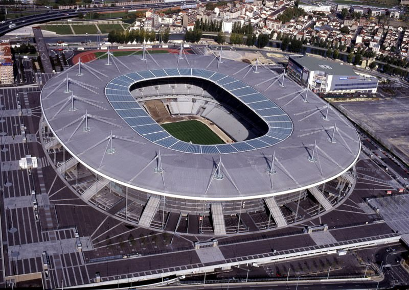 Stade de France   Series  Top 14 sport stadiums with impressive     Stade de France  France