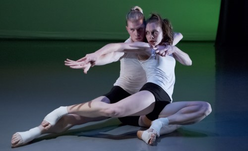 "Josh Murry, Holly Shaw in Jamey Hampton's ""Alter."" Photo: Blaine Truitt Covert"