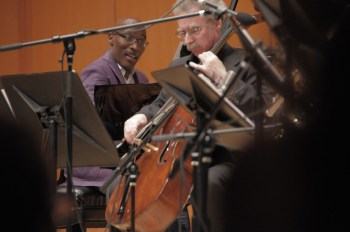 """Darrell Grant and Hamilton Cheifetz performed in Grant's """"The Territory."""" Photo: Jim Leisy."""