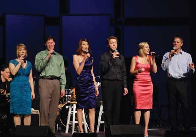 Evynne Hollens and friends perform music of Jason Robert Brown at The Shedd.