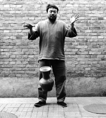 "Ai Weiwei, ""Dropping a Han Dynasty Urn""/Museum of Contemporary Craft"
