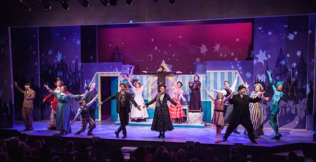 "Northwest Children's Theatre's ""Mary Poppins"" dominated the musical-theater awards. Photo: David Kinder"