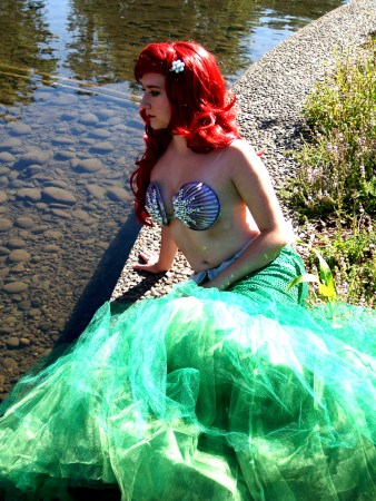"""Erica as Ariel in """"The Little Mermaid""""/Photo by jessica Graham"""