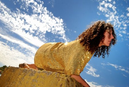 Tracy Broyles performs in Bröllin Voyagé!: An Evening of Performance, Libations and Fundraising on Saturday./Jill Marie