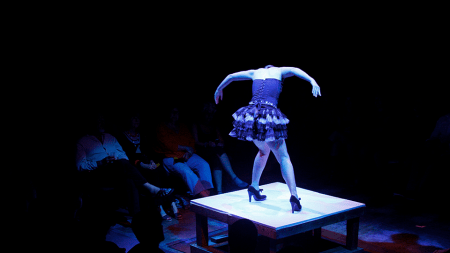 Ten Tiny Dances in a previous incarnation. Photo by Chelsea Petrakis