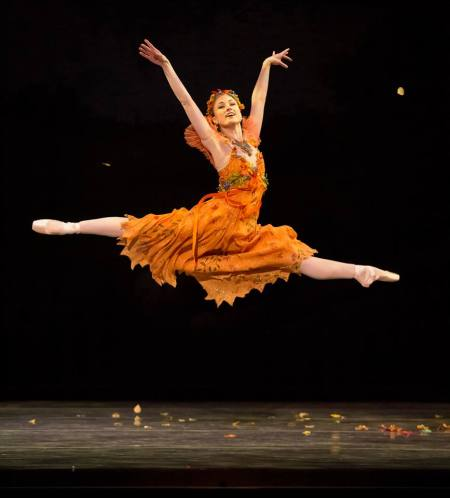 Oregon Ballet Theatre soloist Candace Bouchard: the company kicks off its fall season on Saturday. Photo: Blaine Truitt Covert