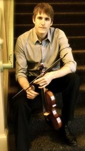 Wyatt True (violinist) Photo UO SOMD.