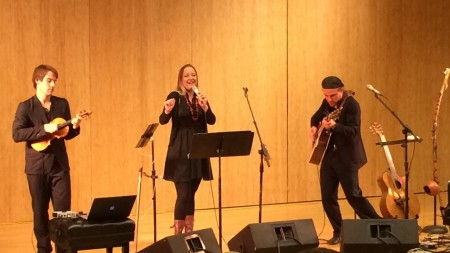 Guy Mendilow Ensemble performed at Portland State University last year and at the Shedd this weekend.