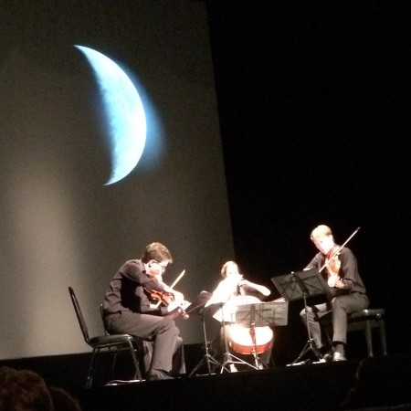 Fry Street Quartet brought its Crossroads Project to Portland's Newmark Theatre.