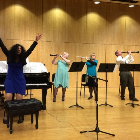 The Mousai play music by Cascadia Composers in May.