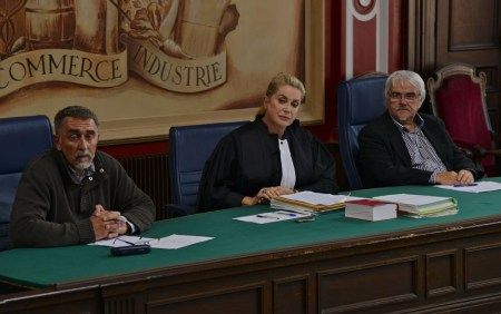 "French screen legend Catherine Deneuve stars as a family court judge in ""Standing Tall."""