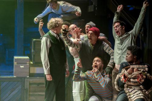 Yo ho ho and a barrel of laughs. Photo: Brud Giles