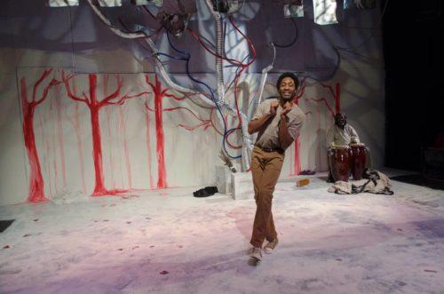 Armond Jam Frazier, dancing.