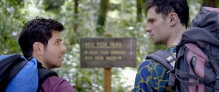 "David Giuntoli and Flula Borg star in ""Buddymoon."""